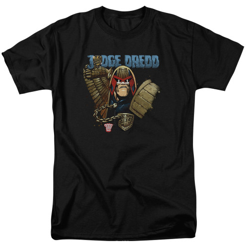 Image for Judge Dredd Smile Scumbag T-Shirt