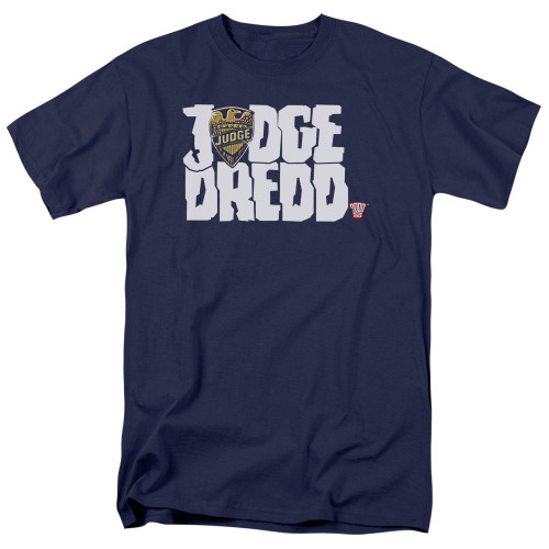 Image for Judge Dredd Logo T-Shirt