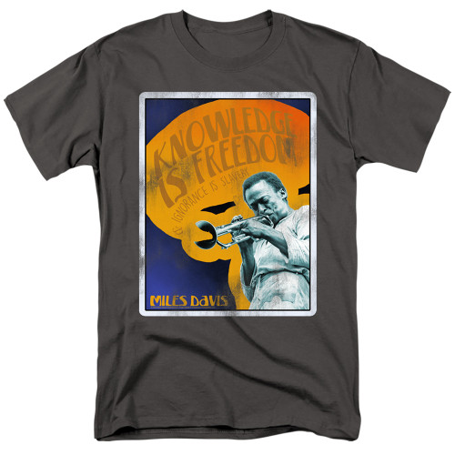 Image for Miles Davis T-Shirt - Knowledge and Ignorance