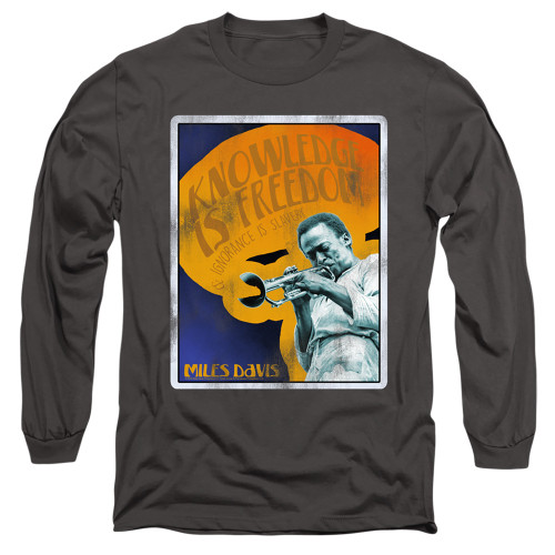 Image for Miles Davis Long Sleeve Shirt - Knowledge and Ignorance