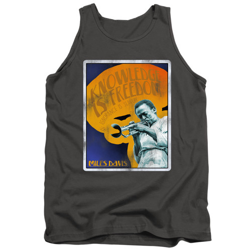 Image for Miles Davis Tank Top - Knowledge and Ignorance