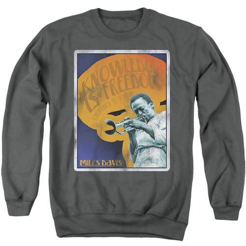 Image for Miles Davis Crewneck - Knowledge and Ignorance