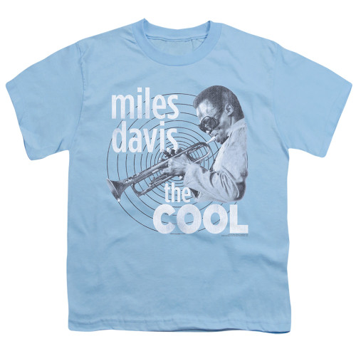 Image for Miles Davis Youth T-Shirt - The Cool