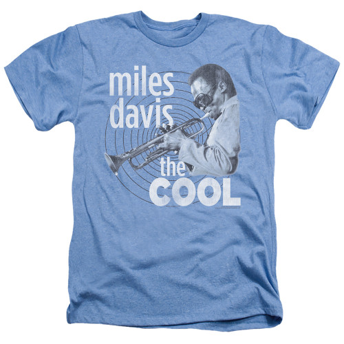 Image for Miles Davis Heather T-Shirt - The Cool