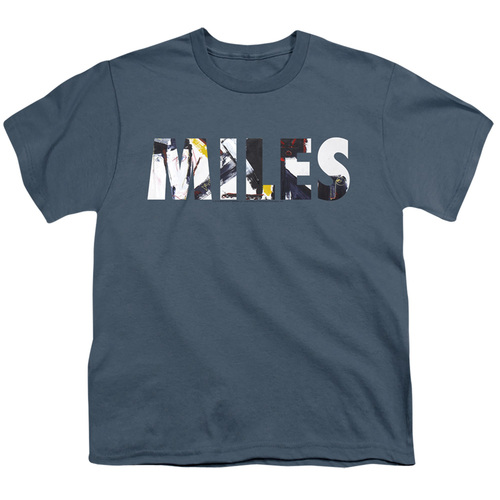 Image for Miles Davis Youth T-Shirt - Rubberband