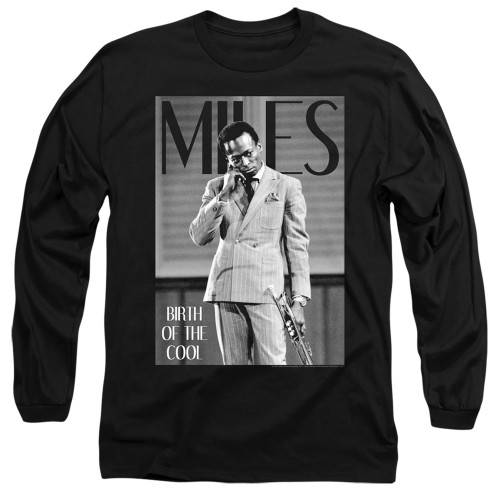 Image for Miles Davis Long Sleeve Shirt - Simply Cool