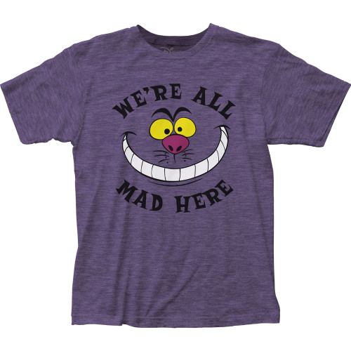 Image for Alice in Wonderland All Mad Here T-Shirt