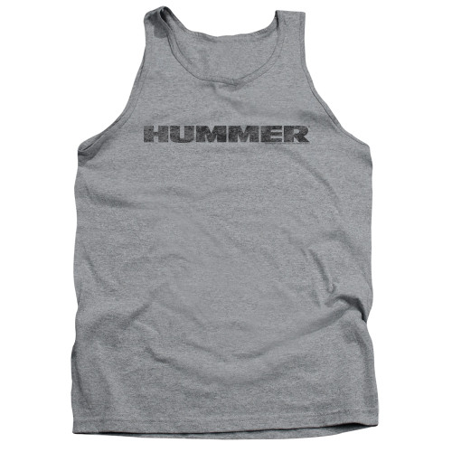 Image for Hummer Tank Top - Distressed Logo