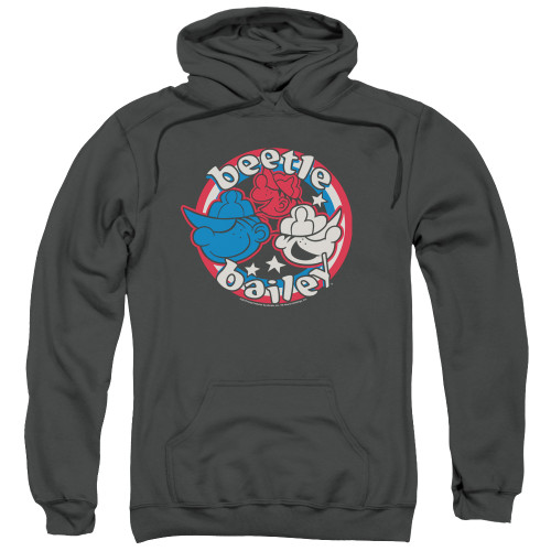 Image for Beetle Bailey Hoodie - Red White and Bailey