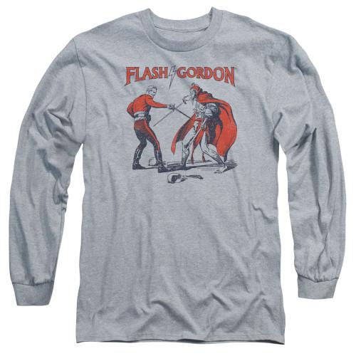 Image for Flash Gordon Duel Long Sleeve T-Shirt