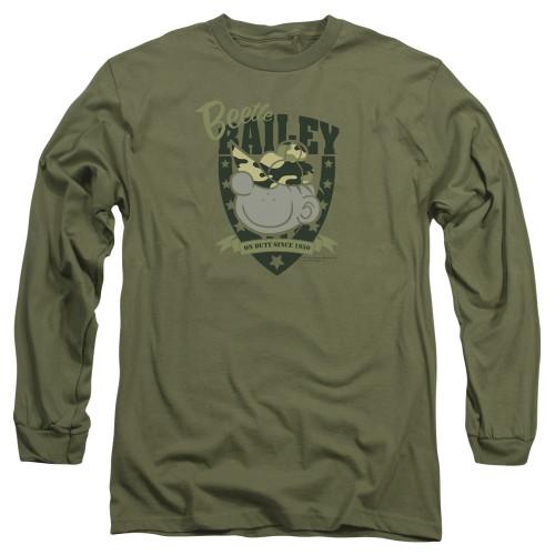 Image for Beetle Bailey On Duty Long Sleeve T-Shirt