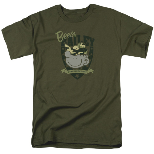 Image for Beetle Bailey On Duty T-Shirt