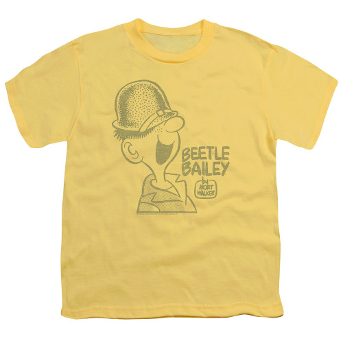 Image for Beetle Bailey Youth T-Shirt -Vintage Beetle