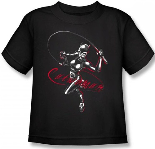 Image for Batman Catwoman Kitten with a Whip Toddler T-Shirt