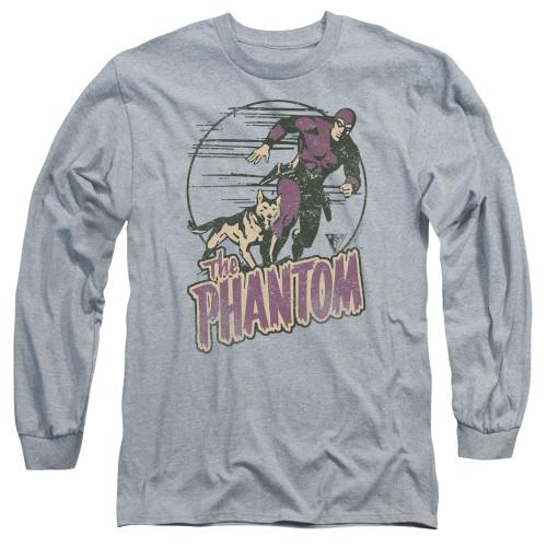Image for The Phantom Phantom and Dog Long Sleeve T-Shirt