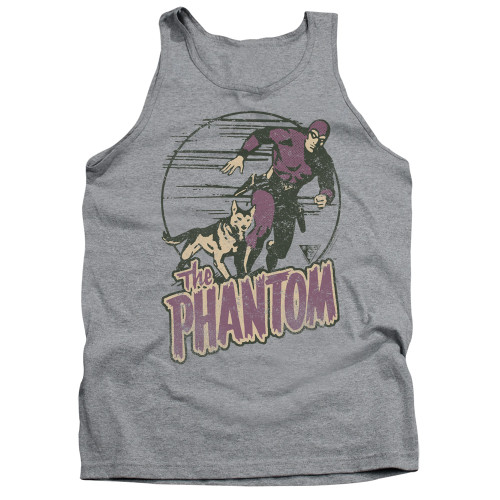 Image for The Phantom Tank Top - Phantom and Dog