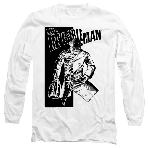 Image for The Invisible Man Long Sleeve Shirt - Who I Am