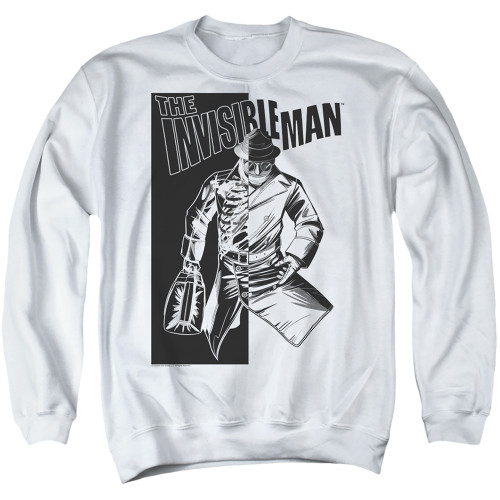 Image for The Invisible Man Crewneck - Who I Am