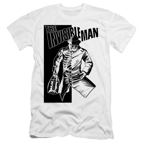 Image for The Invisible Man Premium Canvas Premium Shirt - Who I Am