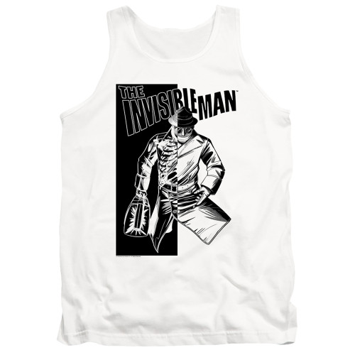 Image for The Invisible Man Tank Top - Who I Am