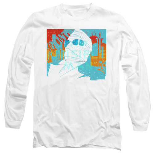 Image for The Invisible Man Long Sleeve Shirt - Wrapped Up