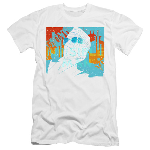 Image for The Invisible Man Premium Canvas Premium Shirt - Wrapped Up