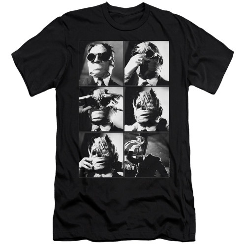 Image for The Invisible Man Premium Canvas Premium Shirt - I'll Show You