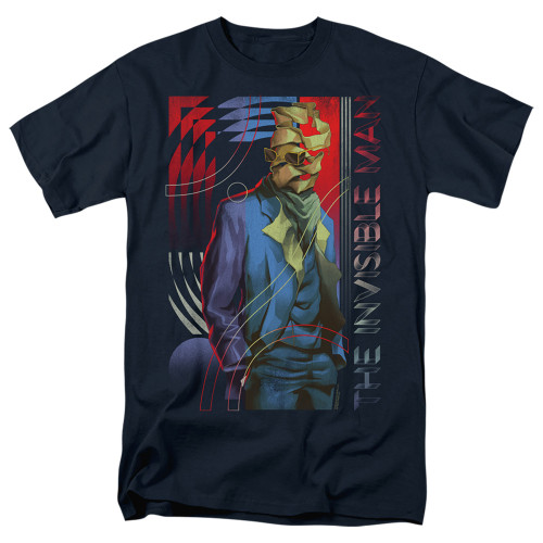 Image for The Invisible Man T-Shirt - Unravelling
