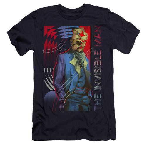 Image for The Invisible Man Premium Canvas Premium Shirt - Unravelling