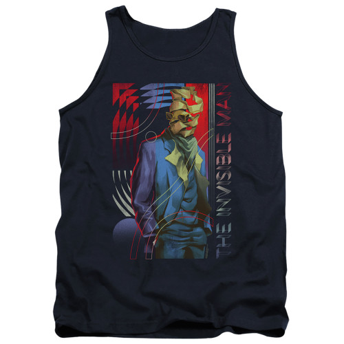 Image for The Invisible Man Tank Top - Unravelling