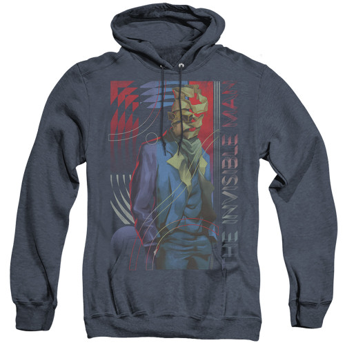 Image for The Invisible Man Heather Hoodie - Unravelling