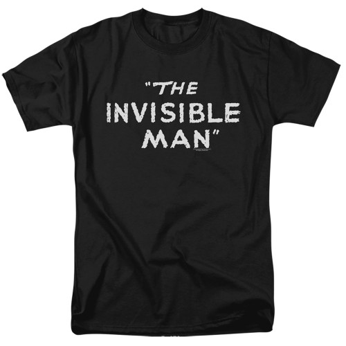 Image for The Invisible Man T-Shirt - Title Card