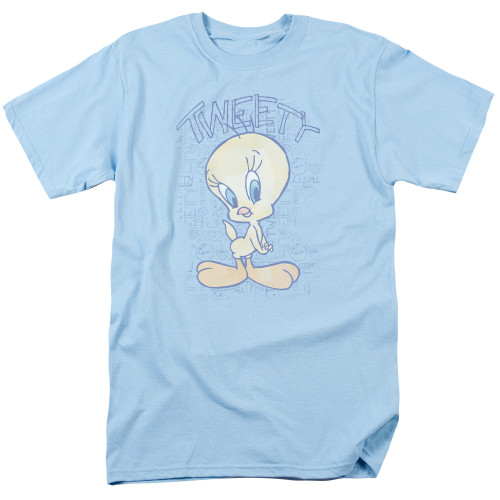 Image for Looney Tunes T-Shirt - Tweety Fade