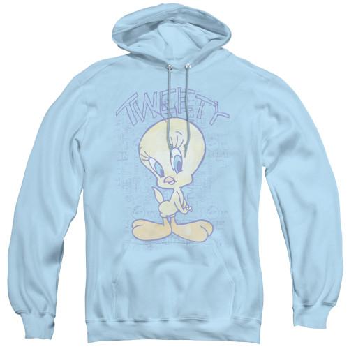 Image for Looney Tunes Hoodie - Tweety Fade