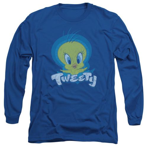 Image for Looney Tunes Long Sleeve T-Shirt - Tweety Swirl