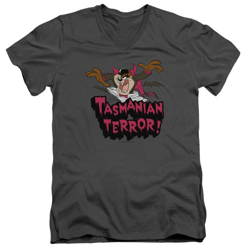 Image for Looney Tunes T-Shirt - V Neck - Taz Terror