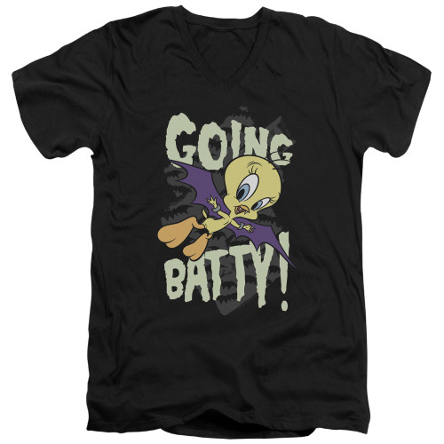 Image for Looney Tunes T-Shirt - V Neck - Going Batty