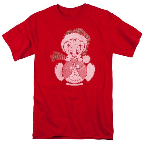 Image for Looney Tunes T-Shirt - Tweety Globe