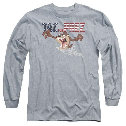 Image for Looney Tunes Long Sleeve T-Shirt - Taz for Prez