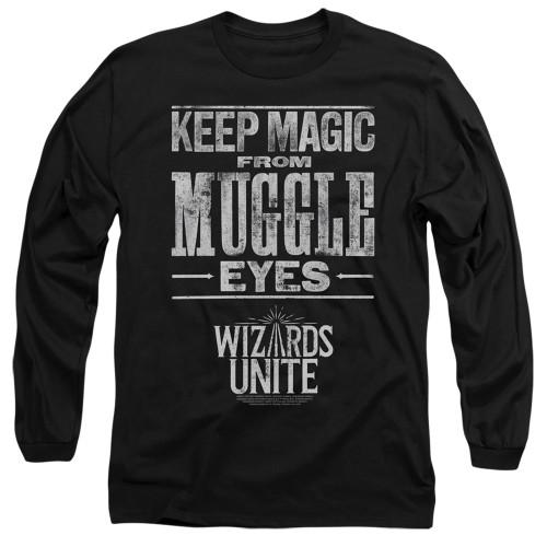 Image for Harry Potter: Wizards Unite Long Sleeve Shirt - Hidden Magic