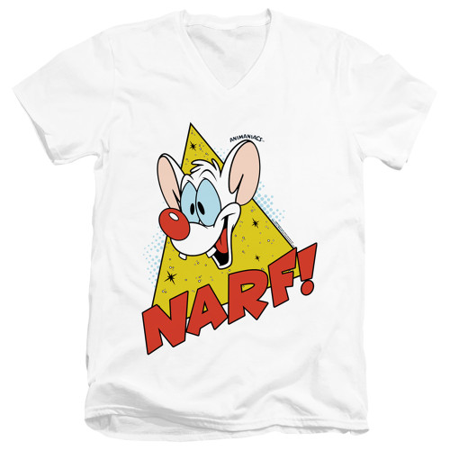 Image for Pinky and the Brain T-Shirt - V Neck - Narf