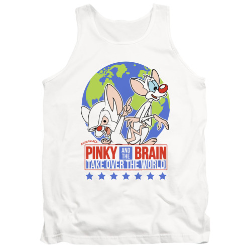 Image for Pinky and the Brain Tank Top - Campaign
