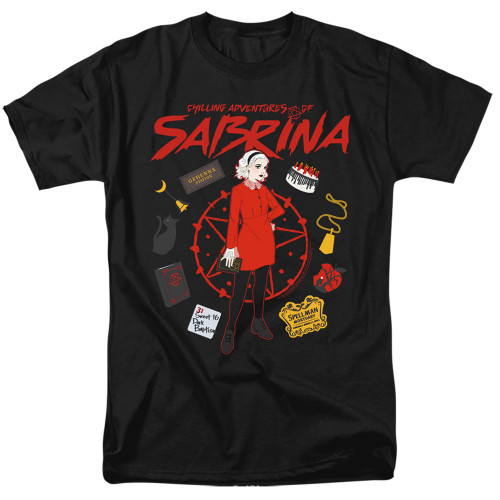 Image for Chilling Adventures of Sabrina T-Shirt - Circle