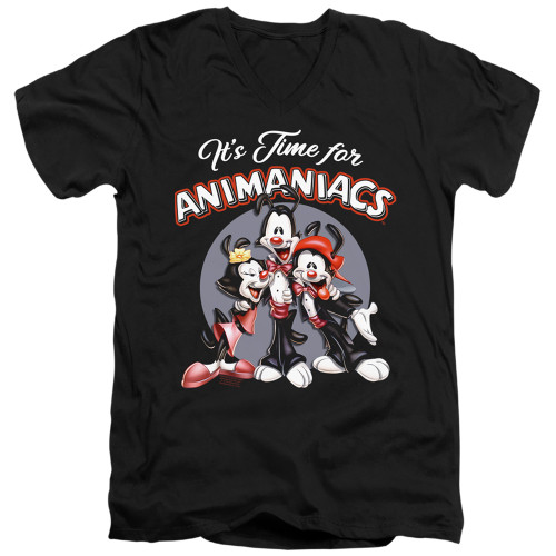 Image for Animaniacs T-Shirt - V Neck - It's Time For