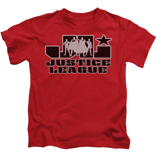 Image for Justice League of America JLA Logo Kid's T-Shirt