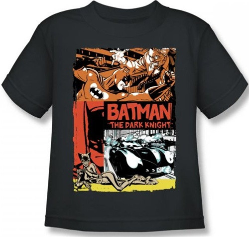 Image for Batman Old Movie Poster Toddler T-Shirt