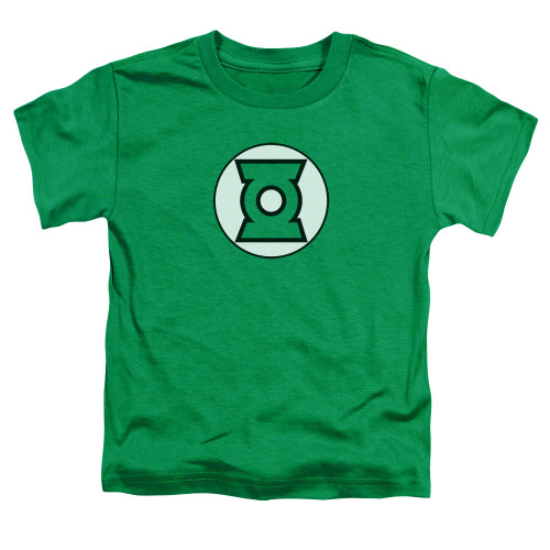 Image for Justice League of America Green Lantern Logo Toddler T-Shirt