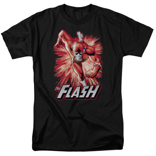 Image for Justice League of America Flash Red & Grey T-Shirt
