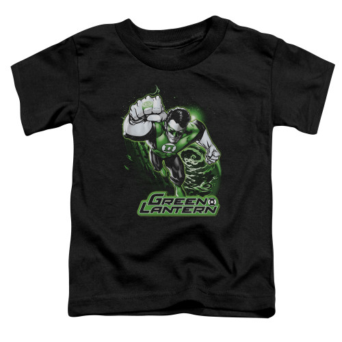 Image for Justice League of America Green Lantern Greey & Grey Toddler T-Shirt