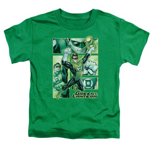 Image for Justice League of America Green Lantern Panels Toddler T-Shirt